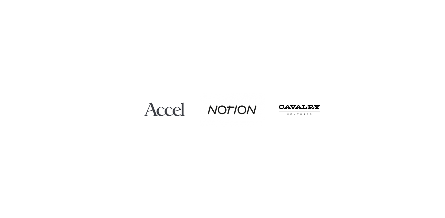 Announcing a $6M investment from Accel and Notion to power no-code automation