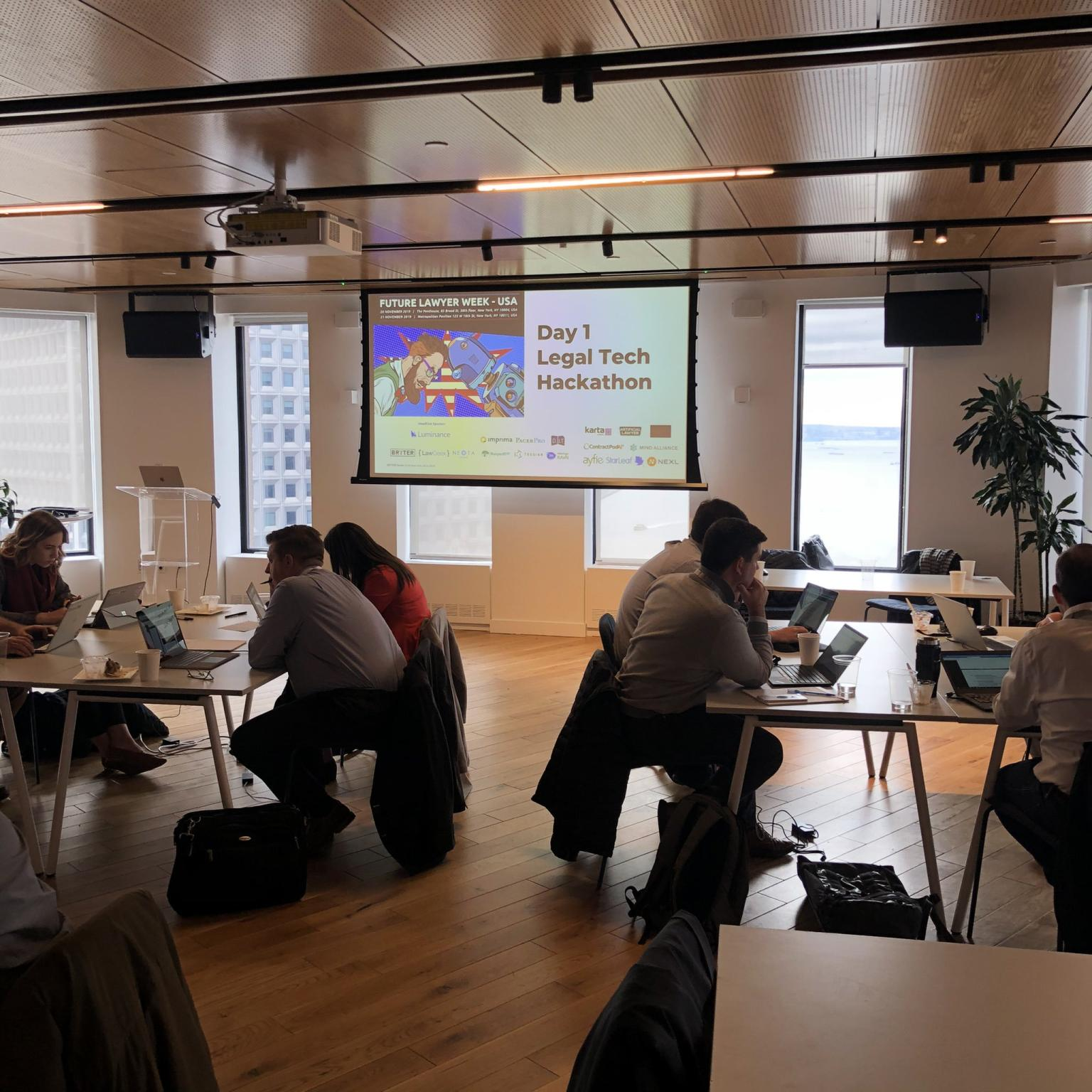 BRYTER's Hackathon in New York City!