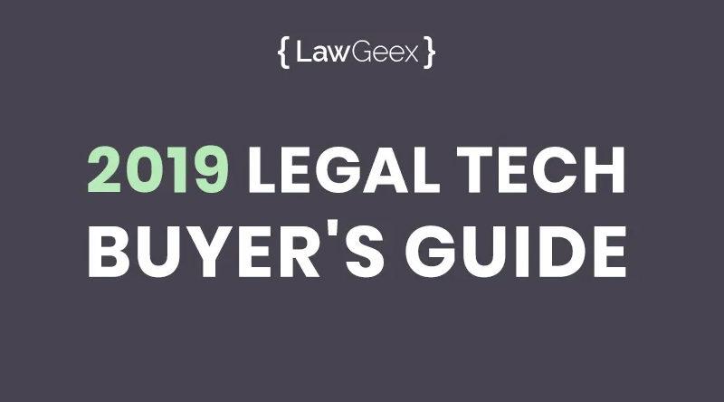 2019 LegalTech Buyer's Guide