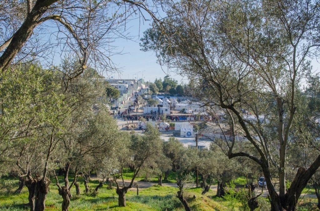 Moria Refugee Camp, Lesvos