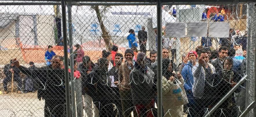 Refugee Camp, Moria, Lesvos