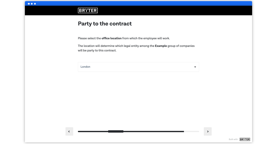 Wizard - Employment Contract Generator