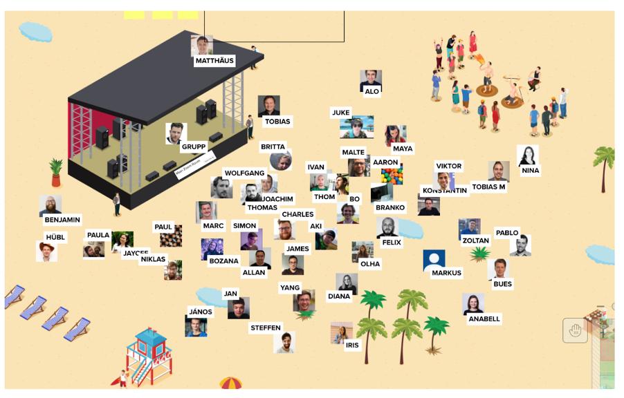 Using Mural at a Virtual Onsite