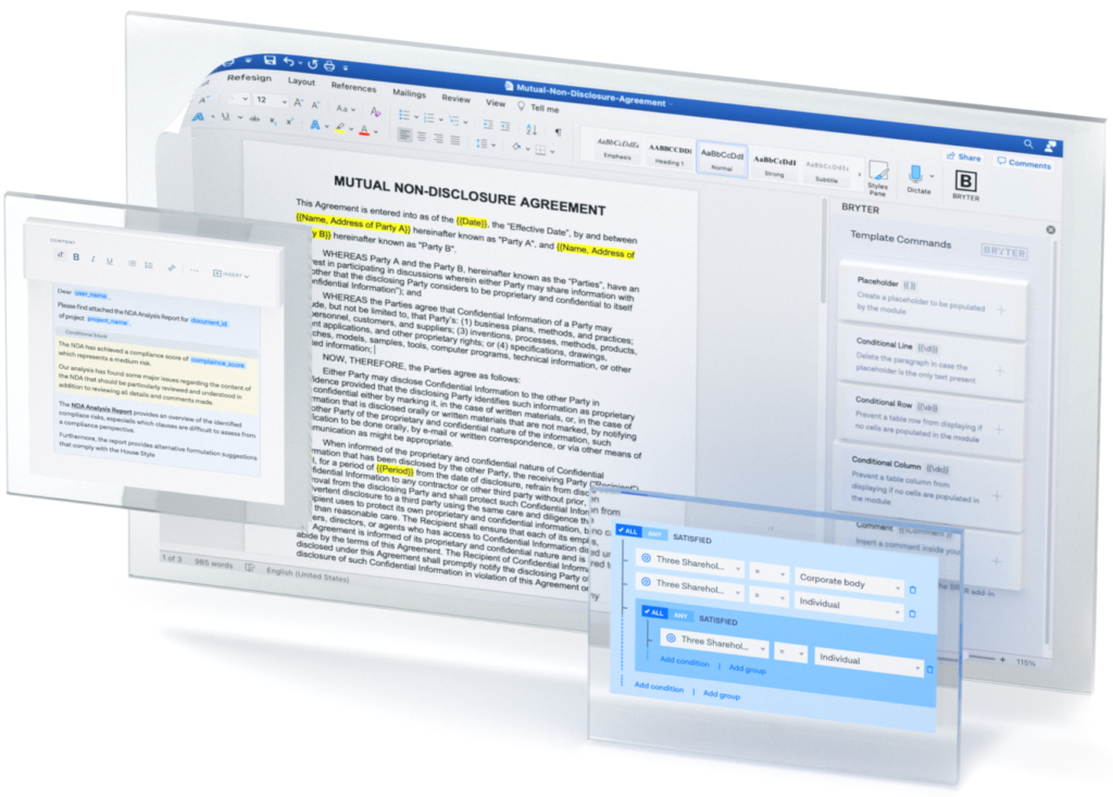 Create documents quickly